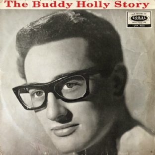 Buddy Holly ‎- The Buddy Holly Story (LP) (G/G-)